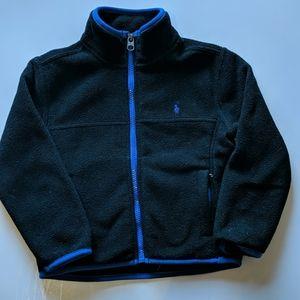 Boys Ralph Lauren Polo Zip up Fleece SZ 4